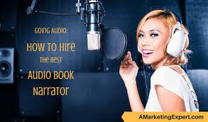 audio narrator career