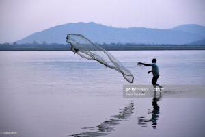 scenic beauty of river Brahmaputra