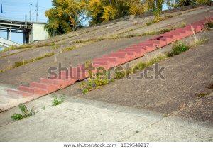 slope river bank