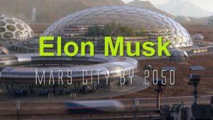 Elon Musk Mars City