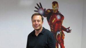 Iron Man Elon Musk