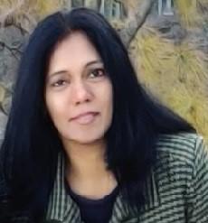 Author Sunita Menon