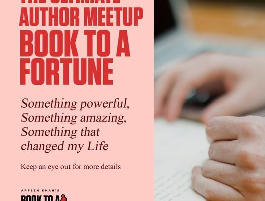 Book To A Fortune meet up