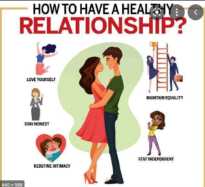 Requirement of healthy relationship
