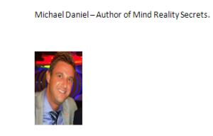 Author Michael Daniel