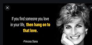 Motivational quote by Lady diana