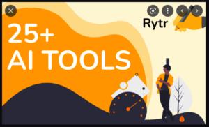 RYTR 25 tools
