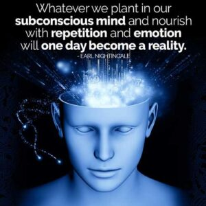 Sub conscious mind reality