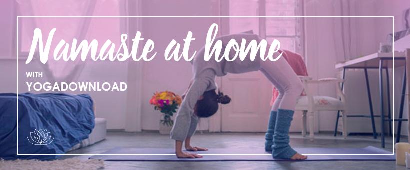 Yoga download at home