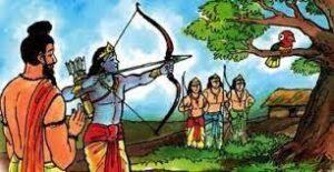Concentration of Arjuna